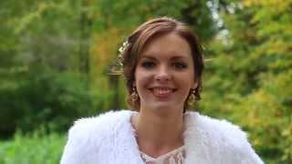 Интервью молодоженов в свадебный день