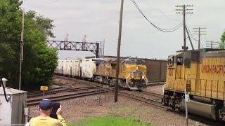 Rochelle IL- Railfanning Railroads of Midwest Episode 12