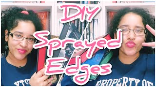 DIY Sprayed Edges!!