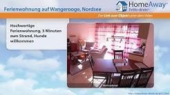 Wangerooge: Hochwertige Ferienwohnung, 3 Minuten zum Strand, Hunde - FeWo-direkt.de Video