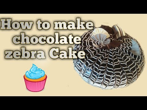 How To Make Chocolate Zebra Cake