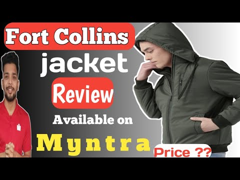 Fort Collins Jacket Unboxing And Review Available On Myntra  | Watch Before Buying |