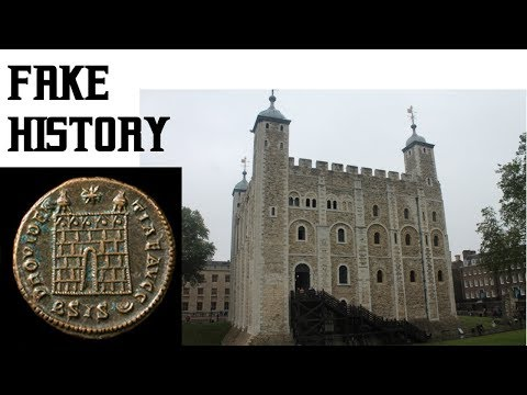 Tower Of London Really Built In Ad Then Catastrophe Fixed Up By Normans