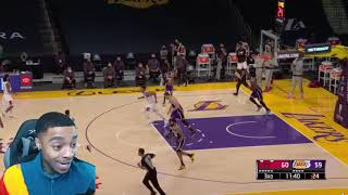 FlightReacts BULLS at LAKERS | FULL GAME HIGHLIGHTS | January 8, 2021!