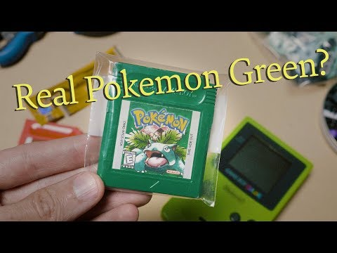 Is This A Real Pokemon Green Cartridge?