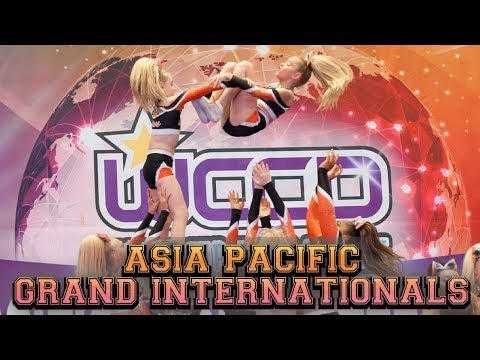 Asia Pacific Grand Internationals Cheer Competition Queensland.