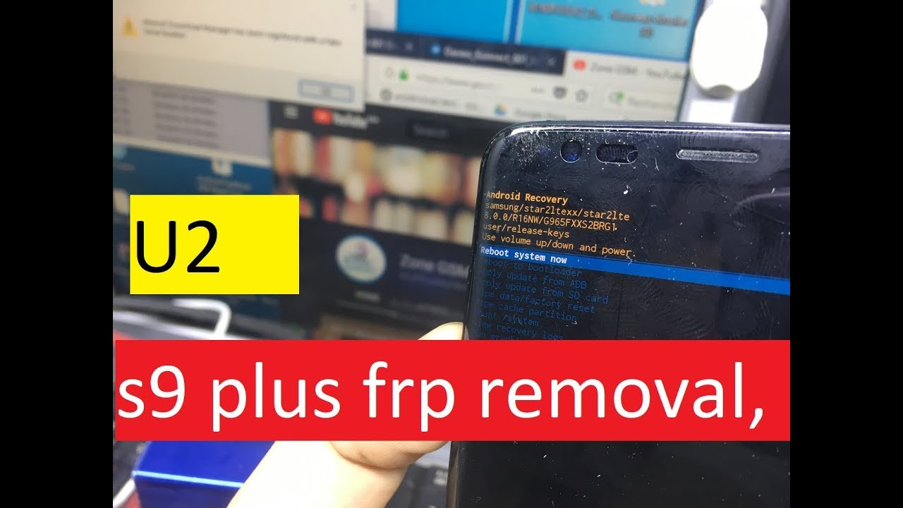 FRP 2018 SAMSUNG GALAXY S9 S9+ PLUS V8 0 0 BYPASS GOOGLE ACCOUNT