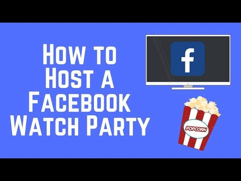 How To Host A Watch Party With Your Friends Of Facebook,facebook Par Apne Dosto Ke Sath Video Watch