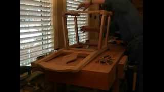 How To Build The Dowelmax Chair Part 3 - Building The Seat Framework Section