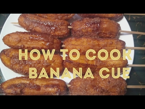 HOW TO COOK BANANA CUE