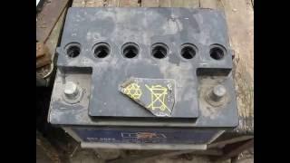 Готовим аккумулятор к сдаче на вторсырьё