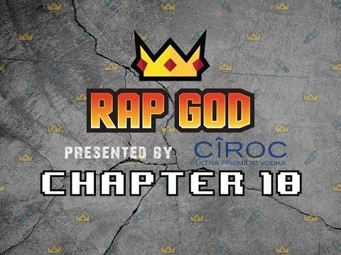 "RAP GOD ""THE RAP GOD"", RAHBOY vs Skinny Bankz"