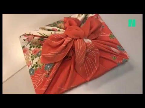 Oubliez le papier cadeau, passez au furoshiki