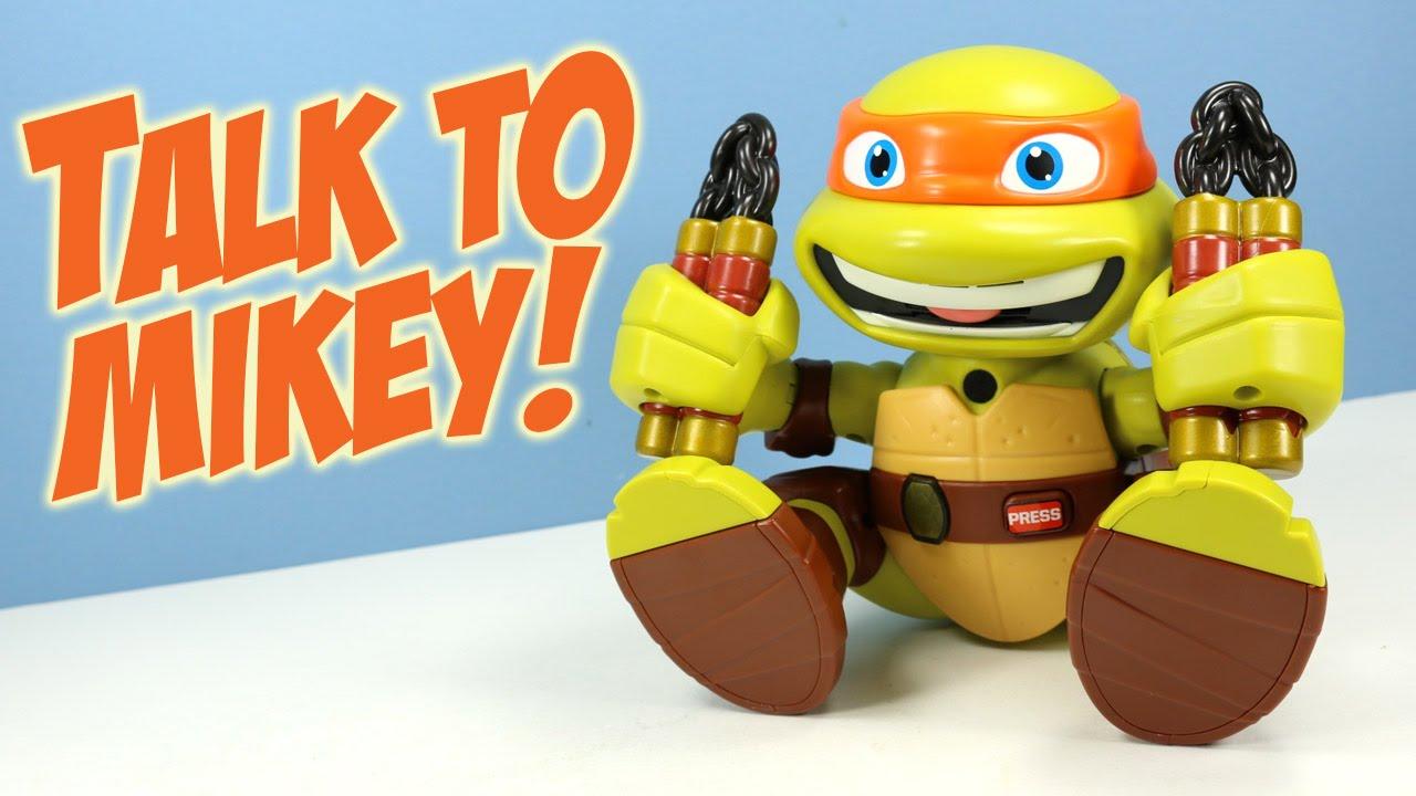 Teenage Mutant Ninja Turtles Talk To Me Mikey Playmates