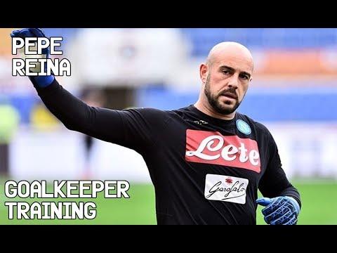 Pepe Reina / Goalkeeper Training !