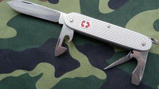 Мой EDC нож Victorinox Alox Pioneer(Обзор швейцарского складного ножа Викторинокс Алокс Пионер. Нож мора Крафтсмен 612: https://www.youtube.com/watch?v=0hwdszVDWaQ..., 2014-10-25T10:55:10.000Z)