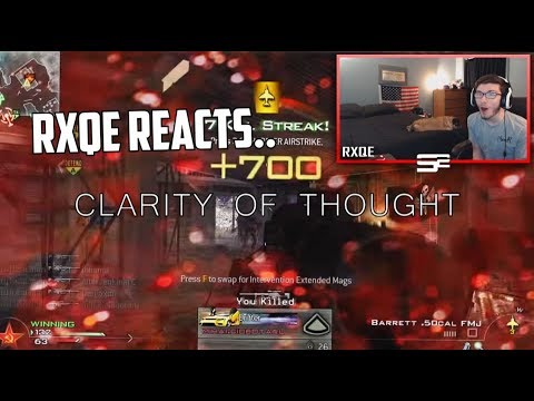 Rxqe Reacts to CLARITY OF THOUGHT!