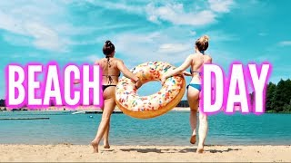 VLOG: BEACH DAY 🏝☀️💦| Sonny Loops