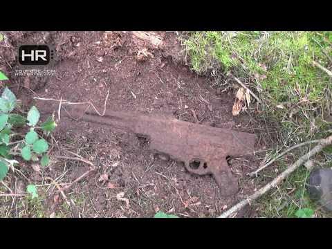 StG44/G43 Relic Hunting Eastern Front of WWII part 1/2 Раскопки Вторая Мировая Война Металлоискатель