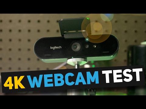 WORLD FIRST 4K WEBCAM - Logitech BRIO 4K Webcam Unboxing & 4K Quality Test - Logitech 4K Pro Webcam