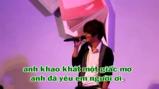 Karaoke Nơi Tình Yêu Bắt Đầu Bùi Anh Tuấn Bùi Anh Tuấn
