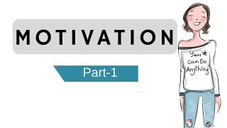 Motivation: Part 1- Meaning, Features, Definition & Process of Motivation (Hindi)