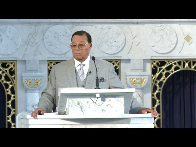 Farrakhan reveals meeting with Pres. Barack Obama