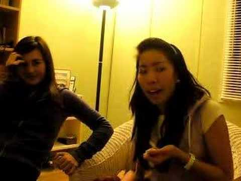 2 GIRLS FINGER PAINT REACTION