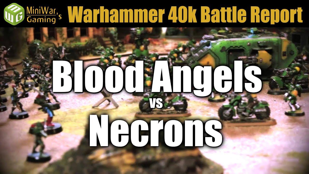 Blood Angels vs Necrons Warhammer 40k Battle Report Ep 15