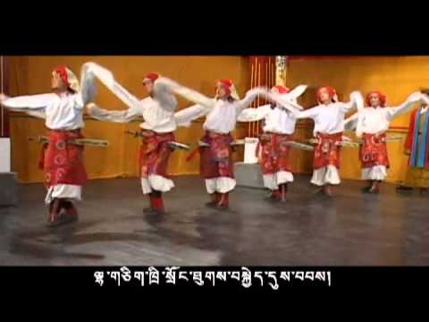 King TriSong Dewu Tsen Part 4/8 (ཁྲི་སྲོང་ལྡེའུ་བཙན་)
