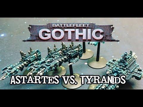 Throwback Thursdays Ep 109 - Battlefleet Gothic - Tyranids vs. Astartes