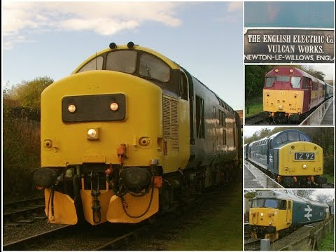 East Lancashire Railway 7.11.2015 - English Electric Theme Day EE