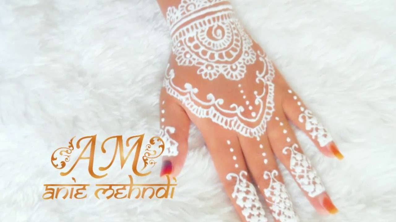 White Henna For Wedding 5 Youtube