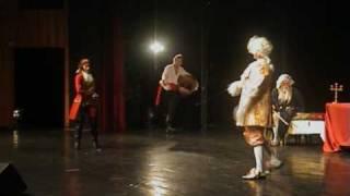 Труффальдино из Бергамо - арт-фехтование, Эспада