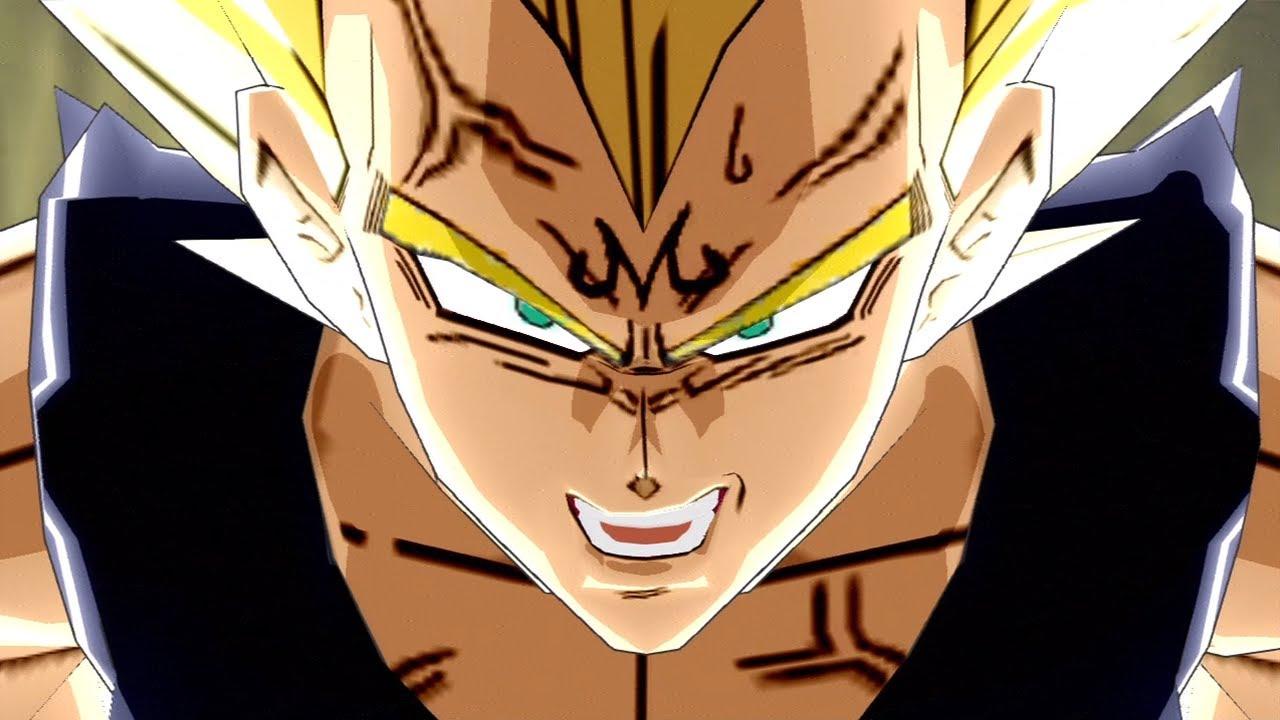 Dragon Ball Z Budokai 3 - HD Collection - Majin Vegeta VS Majin Buu 【HD】