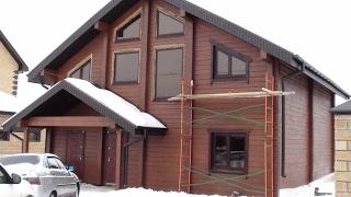 видео Деревянная обналичка окон в деревянном доме