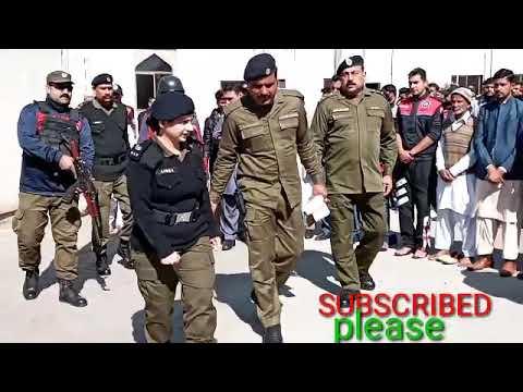 #SP#Ayesha Butt#police,#Dolphin head office {LAHORE} Namaz-e-Janaza