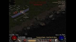 Duriel Speed Run HC Torneio Team #2 Diablo 2