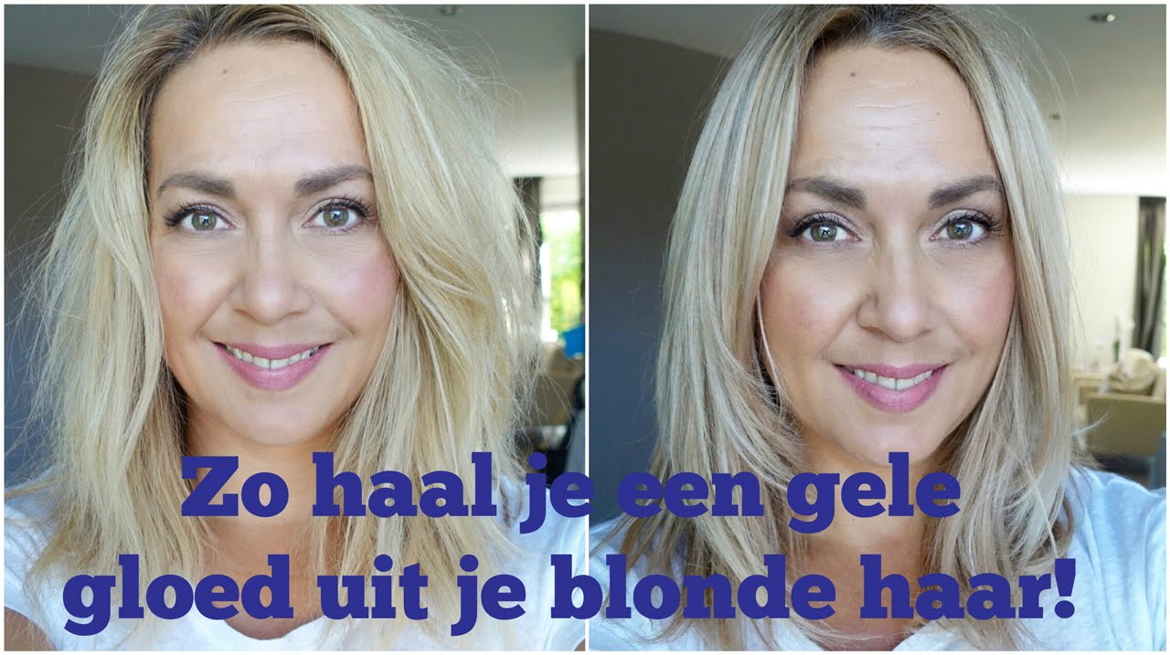 Zo Haal Je Een Gele Gloed Uit Je Blonde Haar Youtube