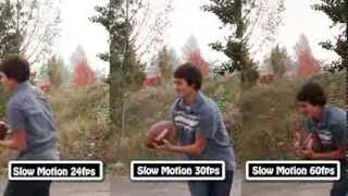 Slow Motion Football | 24fps, 30fps, 60fps