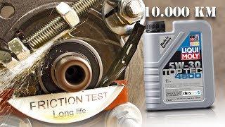 Liqui Moly 4600 top tec 5W30 po 10.000km Jak skutecznie olej chroni silnik?