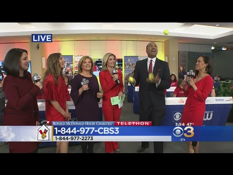 #RMHCCBS3 Telethon: Ukee Shows Off His Juggling Skills