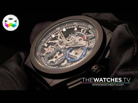 Zenith Watches introduced the El Primero 21 at Baselworld 2017