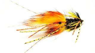 Fly Tying Tiger Snealda Atlantic salmon fly