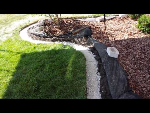 add landscape edging block