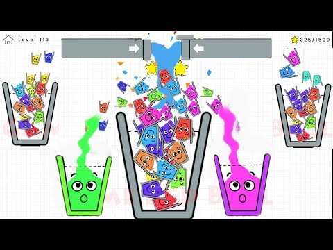 Happy Glass 3 Stars ( Level 251 - 270 ) + Daily Challenge Gameplay Walkthrough Android/IOS