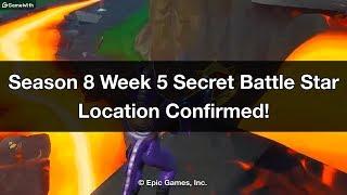 Fortnite - Season 8 Week 5 Secret Battle Star Location