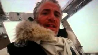 Polar Bear Attacks Wildlife Camera Mans Cage