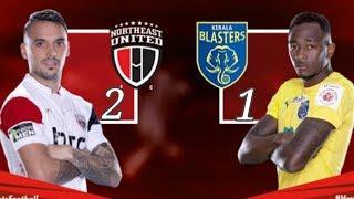 Kerala Blasters vs North East United FC | ISL 2018 | KBFC vs NEUFC 1-2 | Match Highlights | NEWS SRW