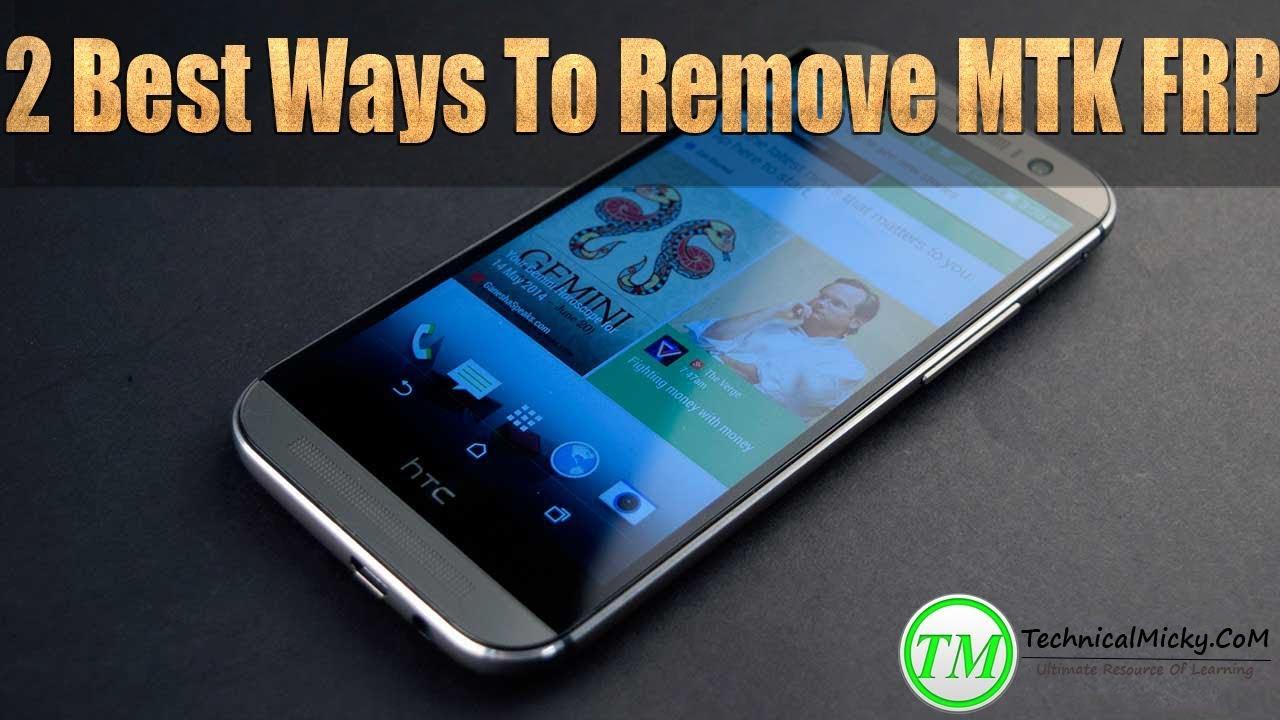 3 Ways To Reset Remove Frp On Mtk Mediatek Devices – Dibujos Para